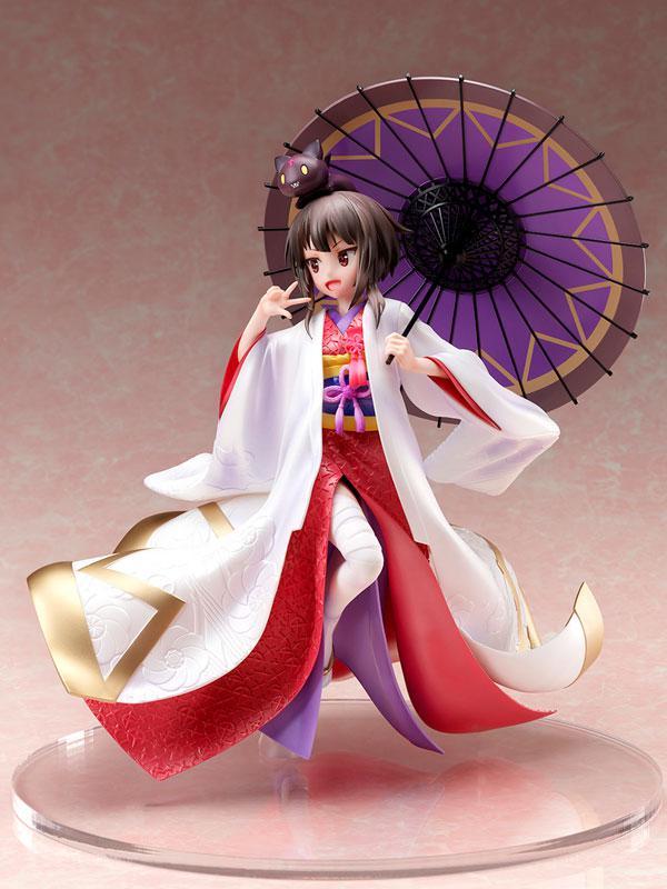 KONOSUBA -God's blessing on this wonderful world!- Legend of Crimson Megumin -Shiromuku- 1/7 Scale Figure