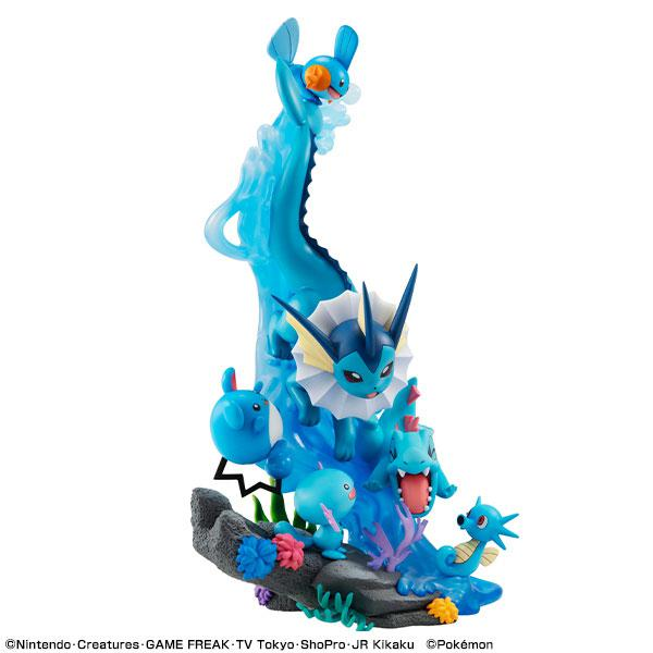 G.E.M. EX Series Pokemon Water Type DIVE TO BLUE Complete Figure product