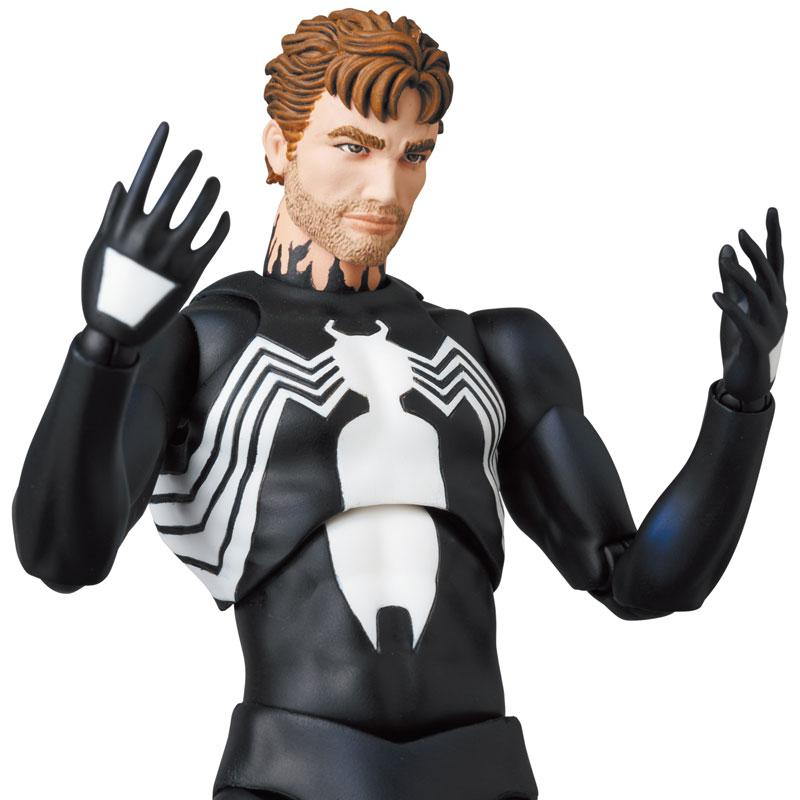 Mafex No.168 MAFEX SPIDER-MAN BLACK COSTUME (COMIC Ver.) product