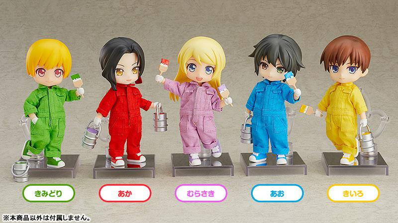 Nendoroid Doll Outfit Set (Colorful Coverall: Yellow-green) 2