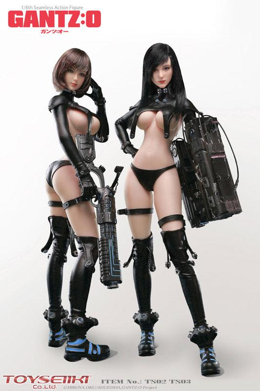 GANTZ:O Reika & Anzu Yamasaki 1/6 Seamless Action Figures main