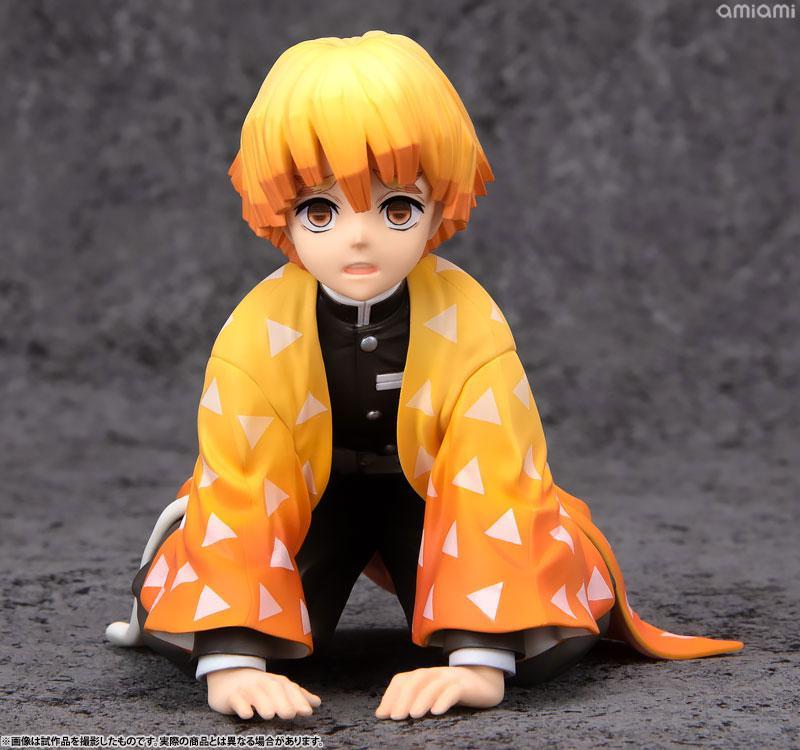 G.E.M. Series Demon Slayer: Kimetsu no Yaiba Palm Size Zenitsu-kun Complete Figure