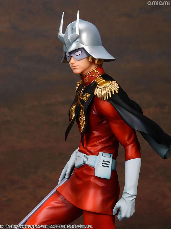 GGG (Gundam Guys Generation) Mobile Suit Gundam Char Aznable 1/8 Complete Figure 9