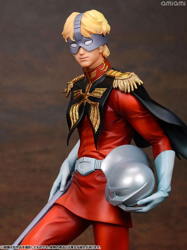 GGG (Gundam Guys Generation) Mobile Suit Gundam Char Aznable 1/8 Complete Figure 25