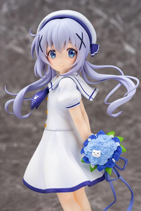 Is the order a rabbit?? Chino (Summer Uniform) 1/7 Complete Figure 2