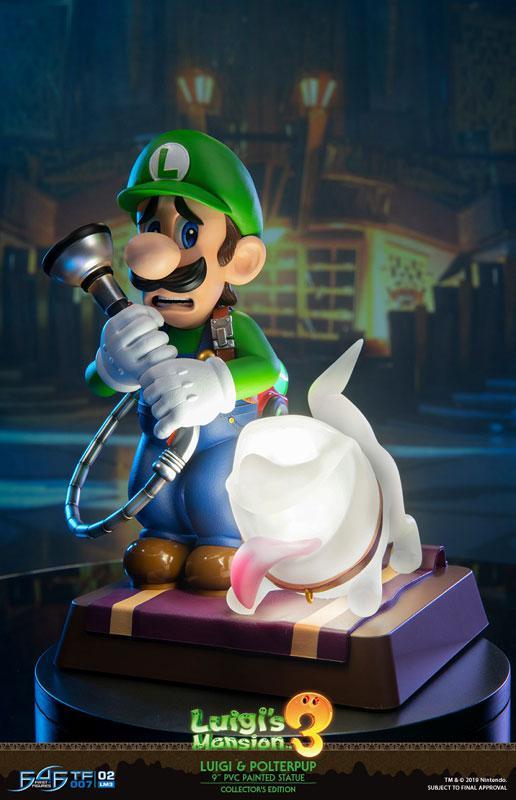 Luigi's Mansion 3/ Luigi 9 Inch PVC Statue Collector Edition 7