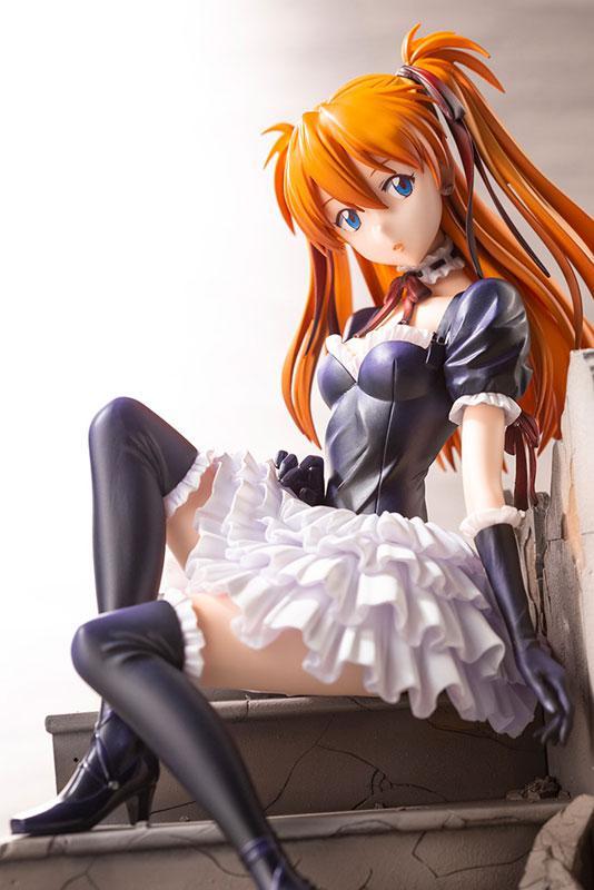 Neon Genesis Evangelion Asuka Langley Soryu -Gothic Lolita ver.-:RE 1/7 Complete Figure