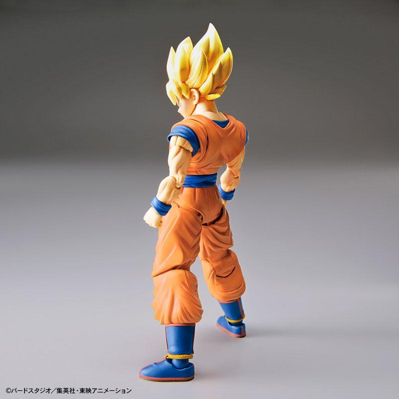 "Figure-rise Standard Super Saiyan Son Goku (Renewal Ver.) Plastic Model ""Dragon Ball"" 4"