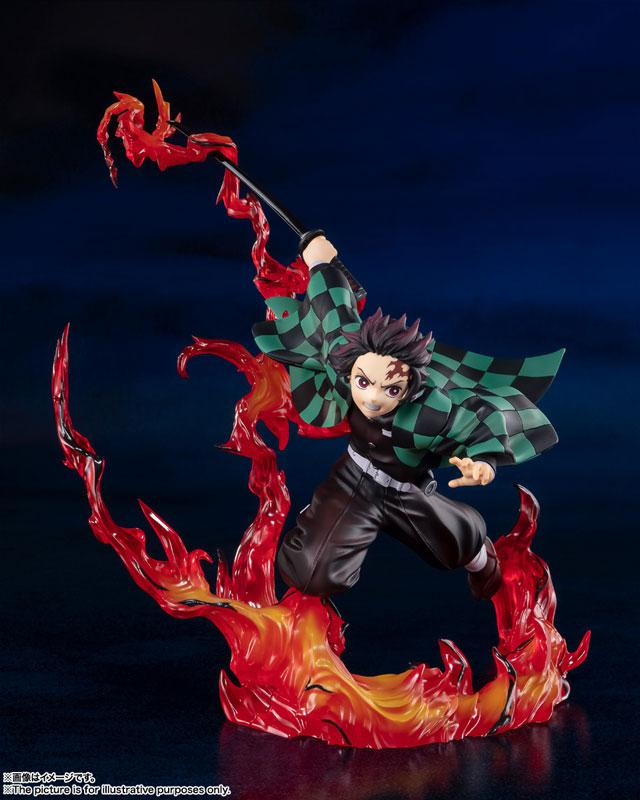"Figuarts ZERO Tanjiro Kamado Full Concentration ""Demon Slayer: Kimetsu no Yaiba"" product"