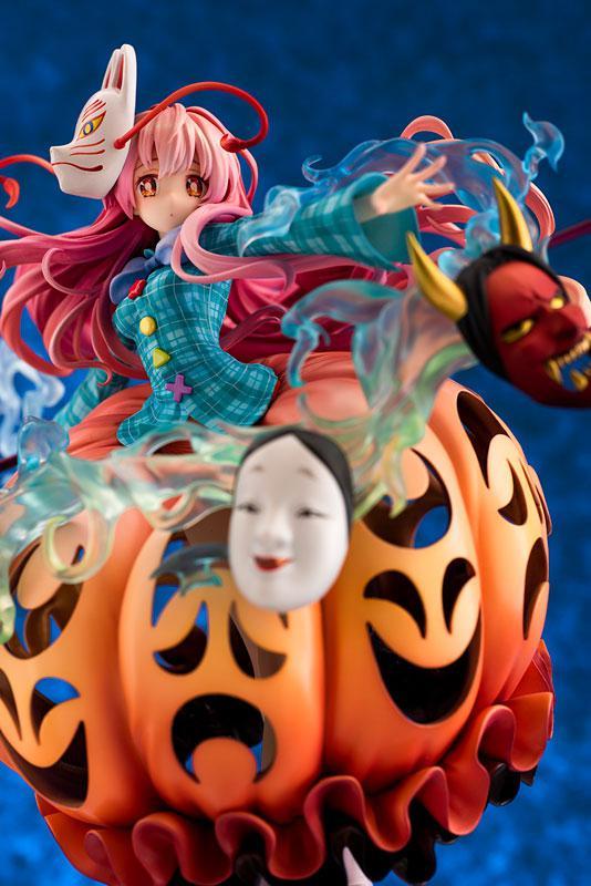 "Touhou Project ""The Expressive Poker Face"" Kokoro Hatano 1/8 Complete Figure"