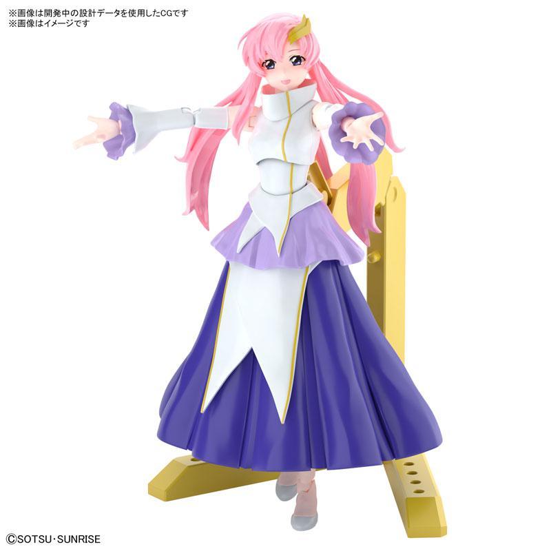 "Figure-rise Standard SEED Lacus Clyne Plastic Model ""Mobile Suit Gundam SEED"""