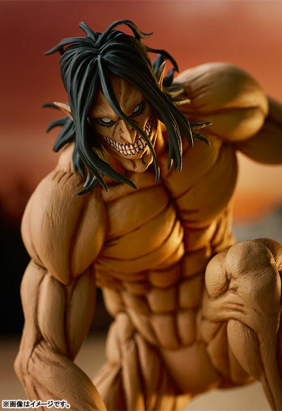 POP UP PARADE Attack on Titan Eren Yeager Attack Titan Ver. Complete Figure product