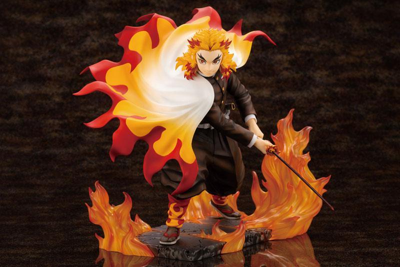 ARTFX J Demon Slayer: Kimetsu no Yaiba Kyojuro Rengoku 1/8 Complete Figure product