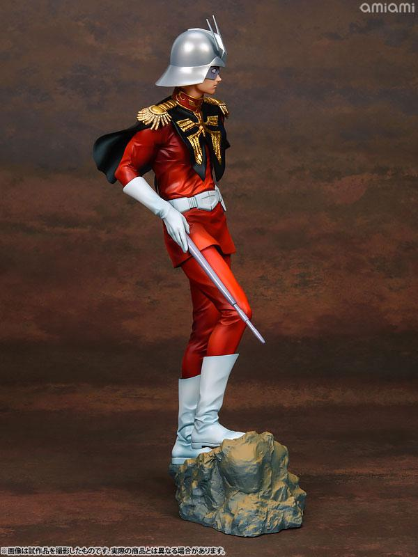 GGG (Gundam Guys Generation) Mobile Suit Gundam Char Aznable 1/8 Complete Figure 5