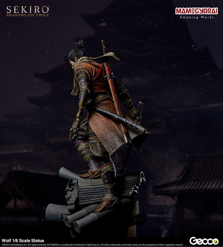 [Bonus] SEKIRO: SHADOWS DIE TWICE/ Wolf 1/6 Scale Statue 24