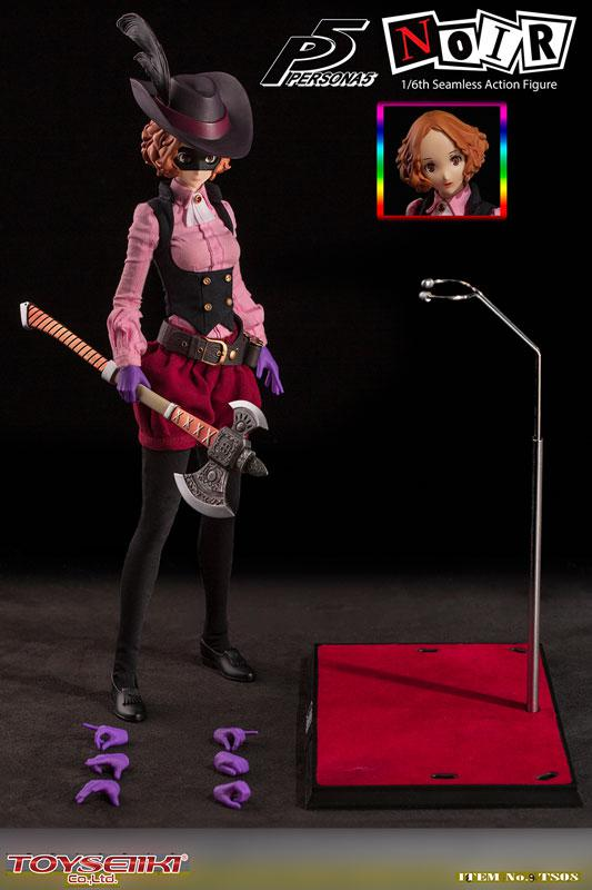 Persona 5 Noire 1/6 Scale Seamless Action Figure 11