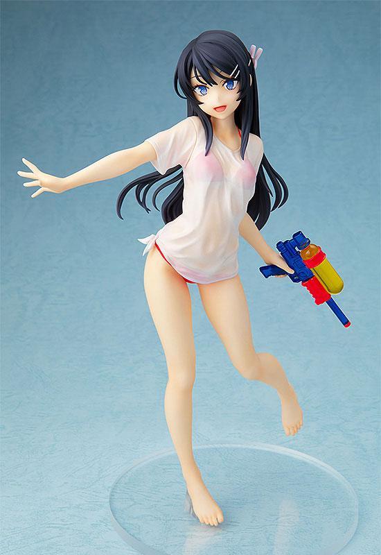 Rascal Does Not Dream of Bunny Girl Senpai Mai Sakurajima Water Gun Date ver. 1/7 Complete Figure