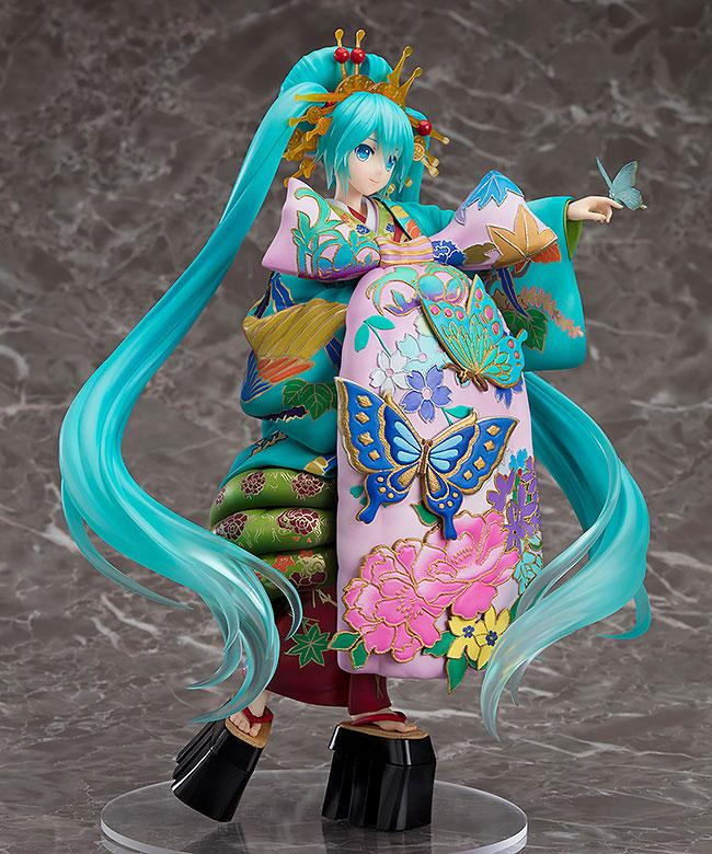 Character Vocal Series 01 Hatsune Miku Chou Kabuki Kuruwakotoba Awasekagami Ver. 1/7 Complete Figure