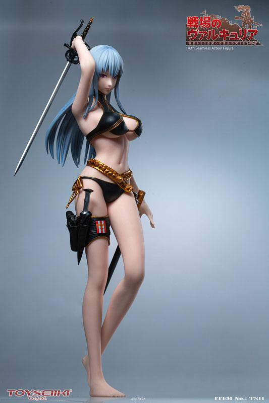 Valkyria Chronicles Selvaria Bles 1/6 Seamless Action Figure product