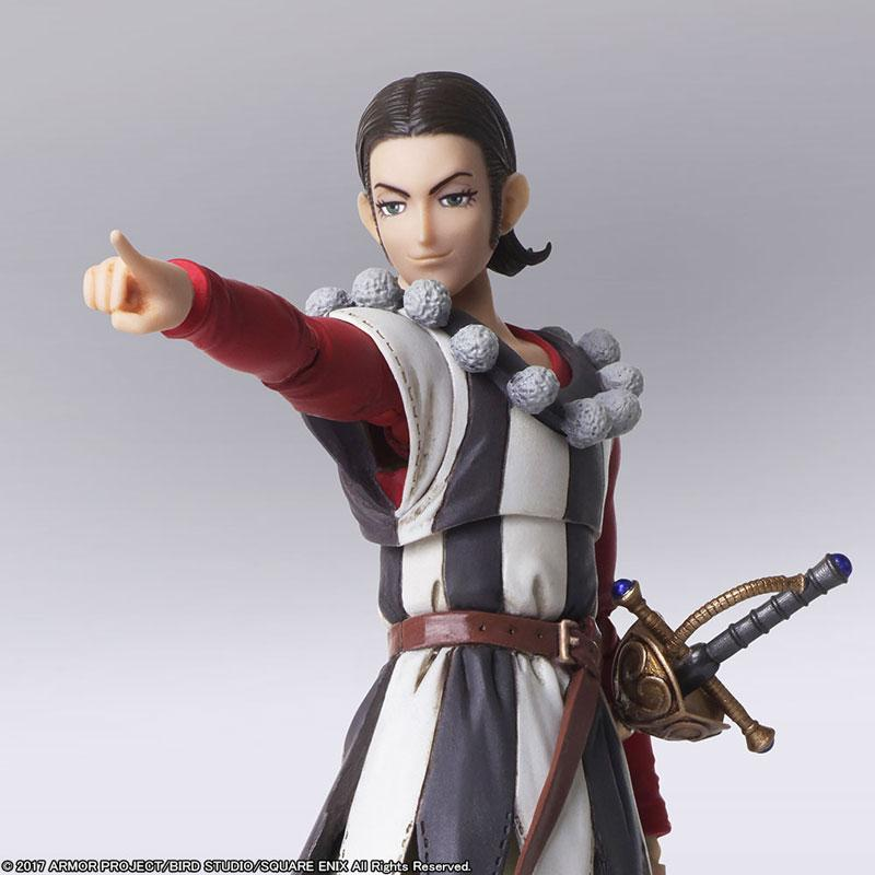 Dragon Quest XI: Echoes of an Elusive Age BRING ARTS Sylvando & Rab Action Figure