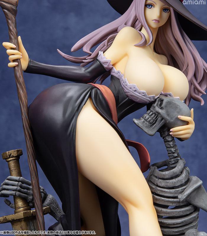 Dragon's Crown Sorceress Darkness Crow ver. 1/7 Complete Figure 14