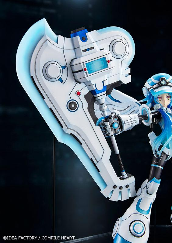 New Dimension Game Neptunia VII Next White 1/7 Complete Figure