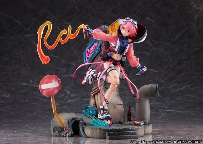 Re:ZERO -Starting Life in Another World- Ram -Neon City Ver.- 1/7 Complete Figure