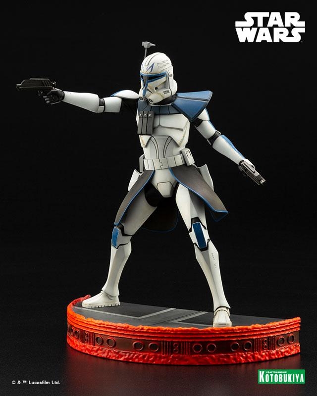 ARTFX Star Wars: The Clone Wars Captain Rex Clone Wars Edition 1/7 Easy Assembly Kit product