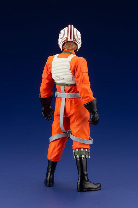 ARTFX+ Star Wars Luke Skywalker X-WING Pilot 1/10 Easy Assembly Kit 11