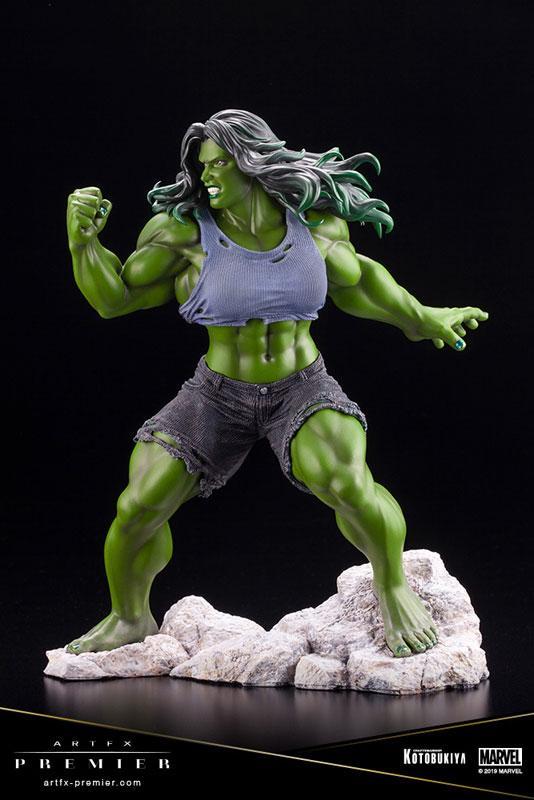 ARTFX PREMIER MARVEL UNIVERSE She-Hulk 1/10 Easy Assembly Kit