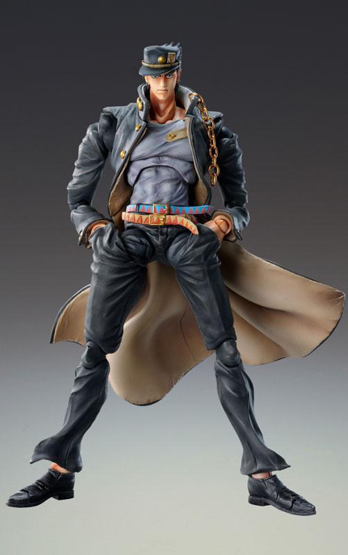Super Action Statue JoJo's Bizarre Adventure Part.III Jotaro Kujo Ver.1.5 Complete Figure
