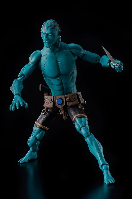 Hellboy Abe Sapien 1/12 Action Figure 3