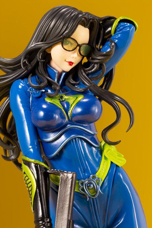 G.I. JOE Bishoujo Baroness 25th Anniversary Blue Limited Edition 1/7 Complete Figure 8