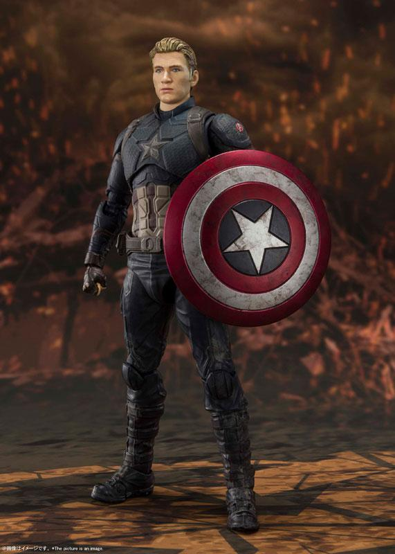 S.H.Figuarts Captain America -[FINAL BATTLE] EDITION- (Avengers: Endgame) 2