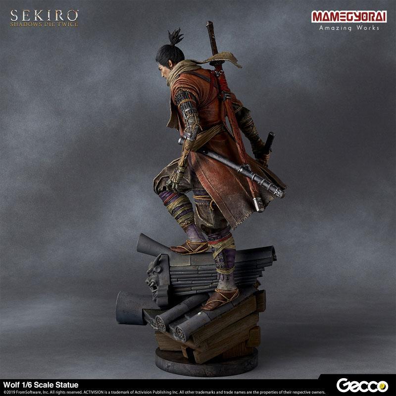 [Bonus] SEKIRO: SHADOWS DIE TWICE/ Wolf 1/6 Scale Statue 4