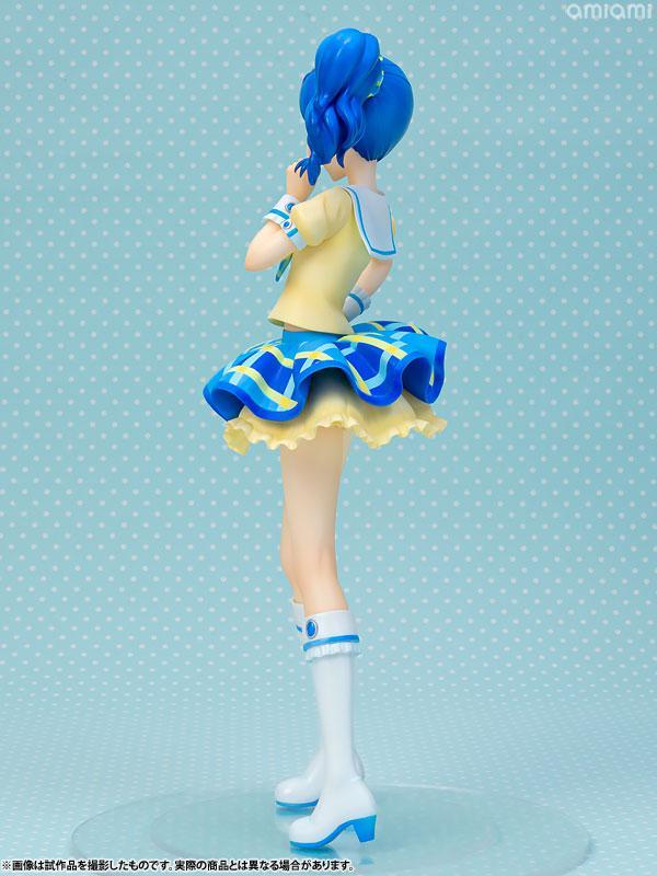 Lucrea Aikatsu! Aoi Kiriya Blue Stage Coord 1/7 Complete Figure 2