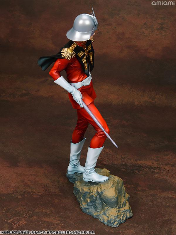 GGG (Gundam Guys Generation) Mobile Suit Gundam Char Aznable 1/8 Complete Figure 11