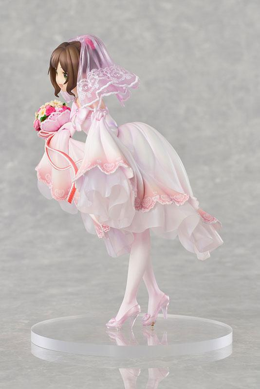 THE IDOLM@STER Cinderella Girls Miku Maekawa Dreaming Bride ver. Limited Edition 1/7 Complete Figure 1