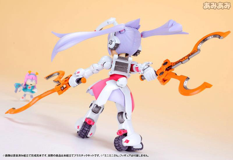 Ichigeki Sacchu!! HoiHoi-san LEGACY 1/1 DG-001LN Usagear Plastic Model 13