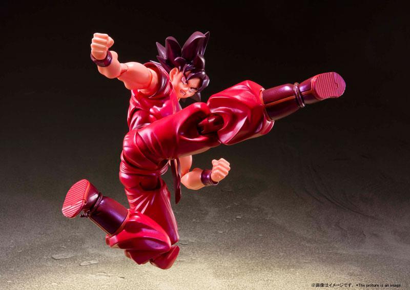 """S.H.Figuarts Son Goku Kaio-ken """"Dragon Ball Z"""" 3"""