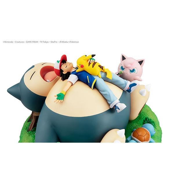 G.E.M. Series Pokemon Nap with Snorlax Complete Figure