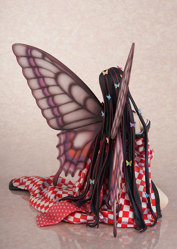 Jin Happoubi Art Collection Red Butterfly -Hoteri- Complete Figure 3