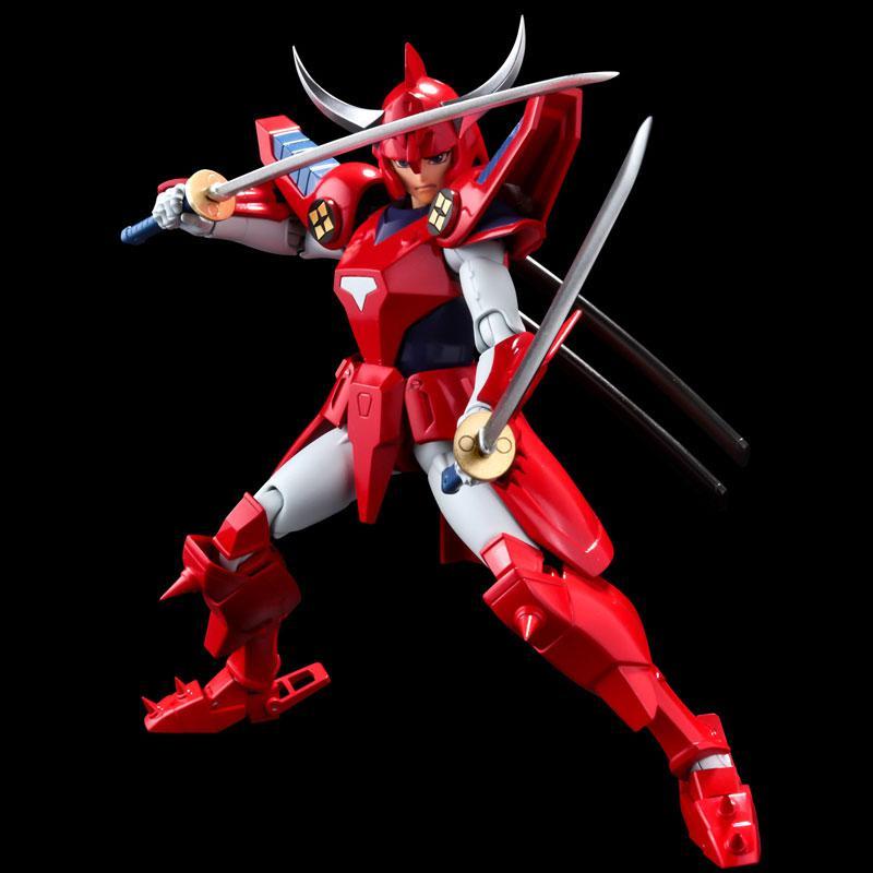 Choudan Kadou Ronin Warriors Ryo of the Wildfire Posable Figure main