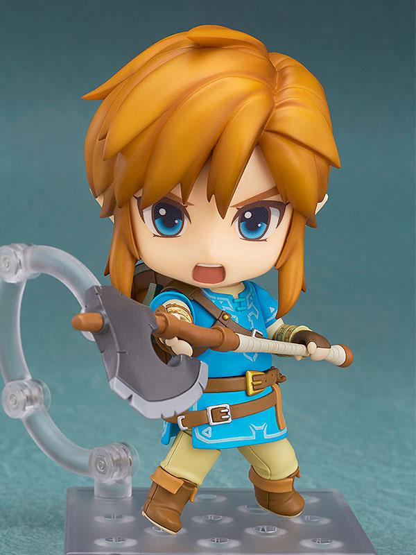 Nendoroid The Legend of Zelda Link Breath of the Wild Ver. DX Edition 2