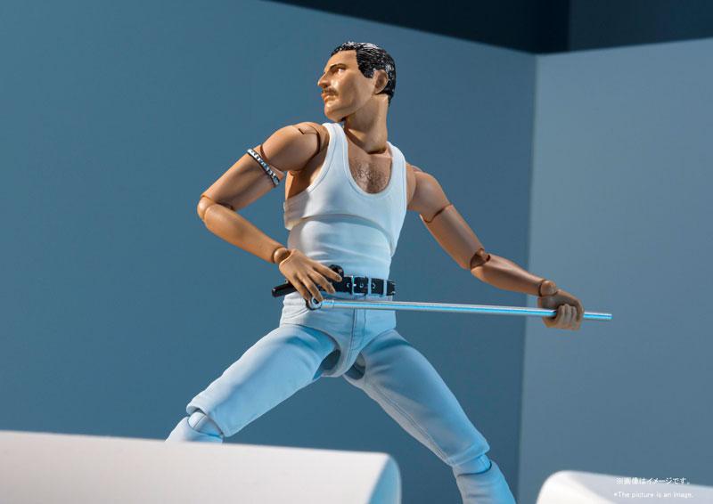 S.H.Figuarts Freddie Mercury LIVE AID Ver. 2