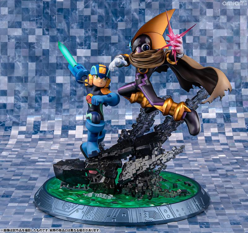Game Characters Collection DX Mega Man - XZ Mega Man vs Bass Complete Figure product
