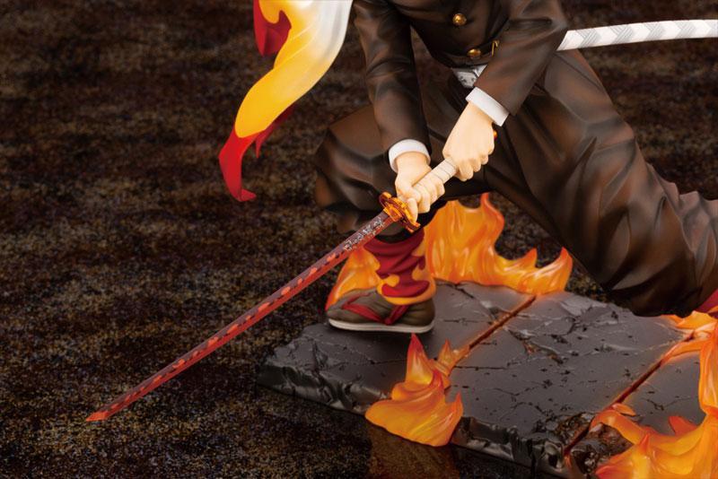 ARTFX J Demon Slayer: Kimetsu no Yaiba Kyojuro Rengoku 1/8 Complete Figure