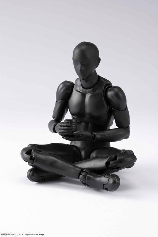 S.H.Figuarts Body-kun DX SET 2 (Solid black Color Ver.)