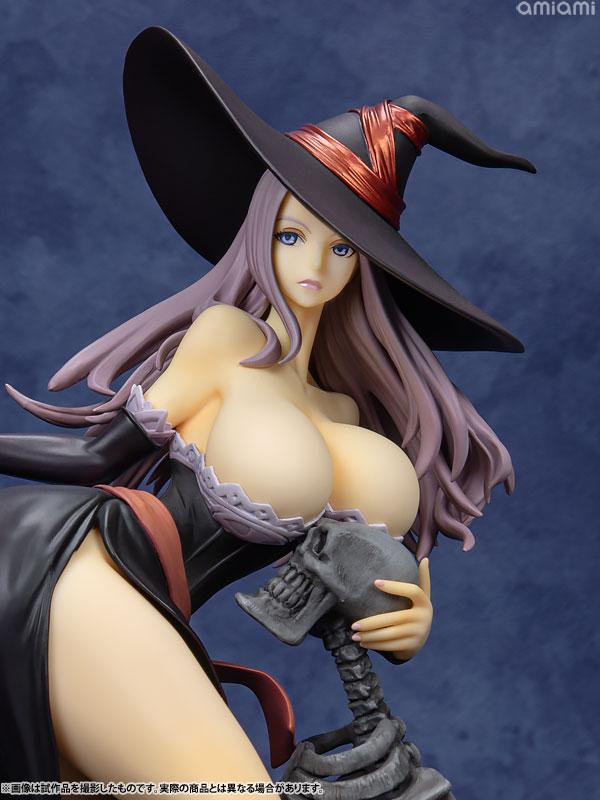 Dragon's Crown Sorceress Darkness Crow ver. 1/7 Complete Figure 8