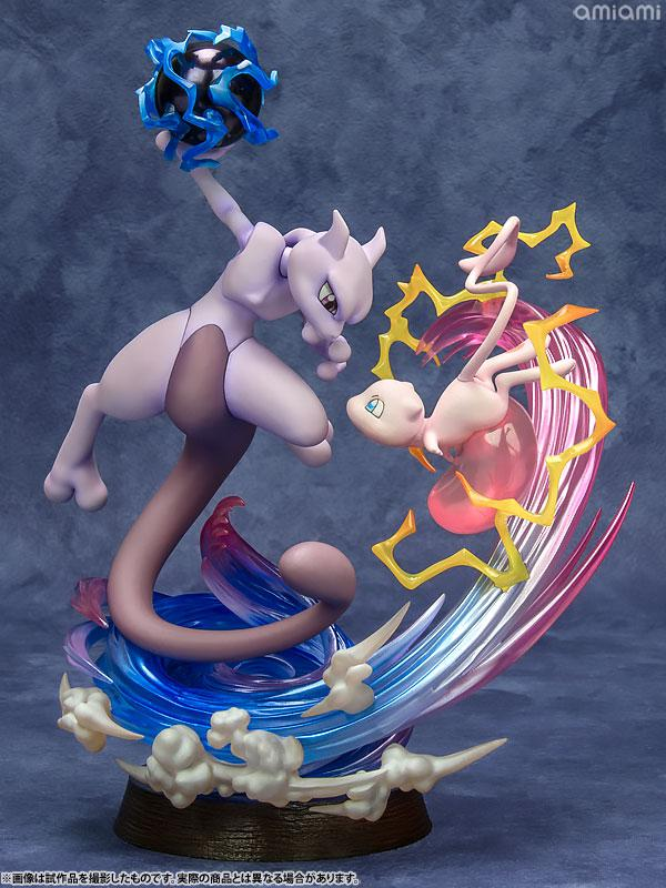 G.E.M. EX Series Pokemon Mew & Mewtwo Complete Figures product